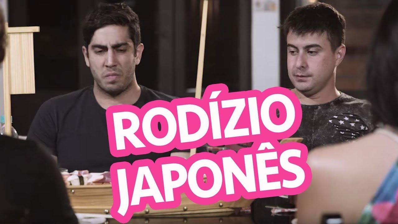 Rodízio Japonês - DESCONFINADOS (Erros de Gravação no Final)