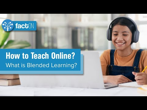 How to Teach Online?⎮ What is Blended Learning?⎮SkillUp Central⎮Edtech