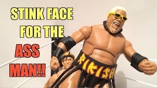 WWE ACTION INSIDER: Rikishi Elite series 27 Mattel Flashback Classic wrestling figure Legend