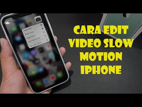 Cara Edit Video Slow Motion Iphone