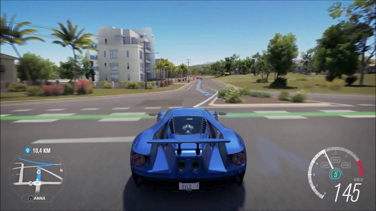 Forza Horizon  Ford Gt  Play Hd P Xbox One You