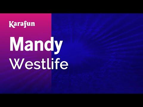 Karaoke Mandy - Westlife *