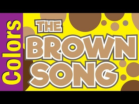 Brown Song | Colors Song for Kids ESL & EFL | Colors Song | ESL for Kids | Fun Kids English