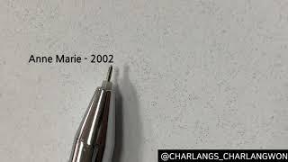 ANNE MARIE - 2002 오르골 / 찰랑즈 / 오르골 / BGM / 뮤직박스 / ANNE MARIE