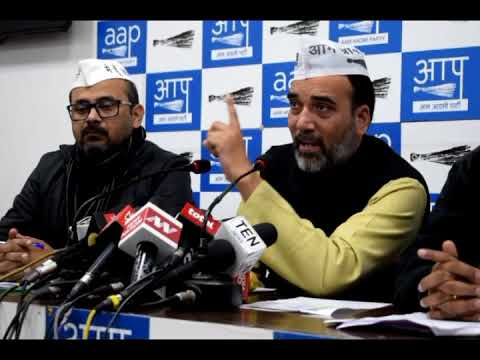 Gopal Rai attacks Chief Election Commissioner AK Jyoti, says he is acting on behest of BJP