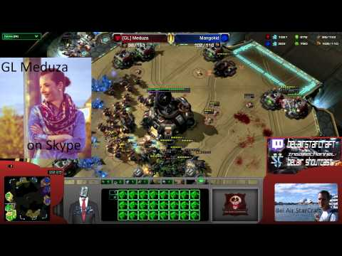 StarCraft 2 -HotS- Interview [GL] Meduza  a gaming Girl