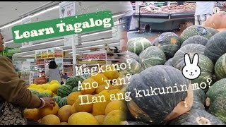 Learn Tagalog: Let