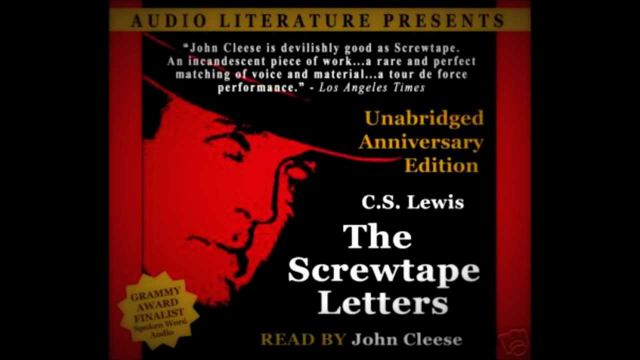 1 the screwtape letters narrated by john cleese youtube