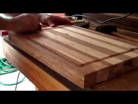 El taller de hora tabla de youtube for Cortar madera con radial