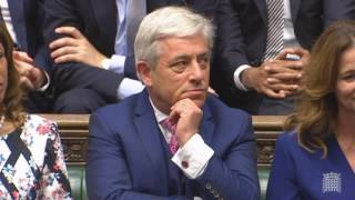 The new Parliament is back, John Bercow has again been electred as ...