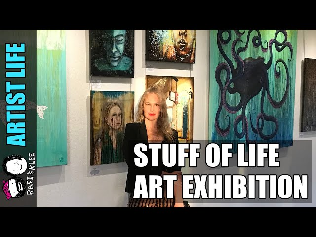 The Stuff Of Life - Art Exhibition - At Luna Fine Art Gallery