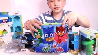 PJ Masks , Paw Patrol , Peppa Pig , Surprise Eggs with Sharks and Crocodile Toys Unboxing for Kids