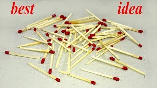 Matchstick Craft Idea | Best craft idea | DIY arts and crafts | matchs