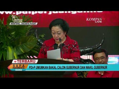 Pilgub Papua 2018, PDI-P Usung John Wempi-Melkias Suwae
