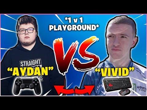 GHOST AYDAN VS LIQUID VIVID 1v1 Playgrounds ( PC VS CONSOLE INSANE BUILD BATTLES!)