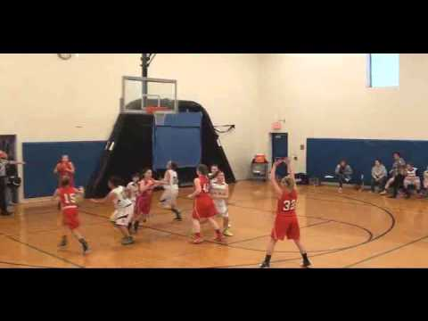 2 5 2016 Peters Township Middle School 7th Grade Girls vs McGuffey