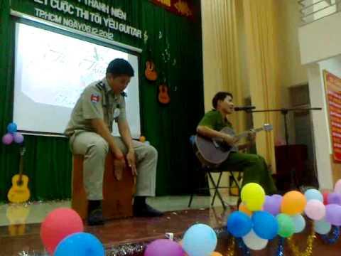 Nếu tôi chết hãy chôn tôi với cây đàn guitar (Guitar+trống) - Thái Thuận ft.BuRin