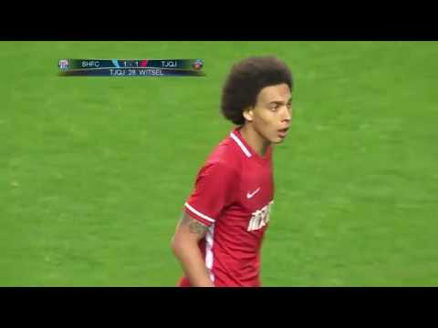 Axel Witsel escapes red to score Tianjin equaliser