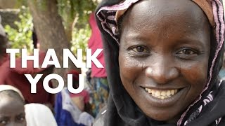Thank you for transforming lives this year