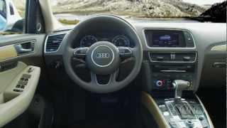 2013 Audi Q5 Driving Scenes, Exterior & Interior