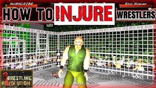 How to Injure a Wrestler in Wrestling Revolution 3D