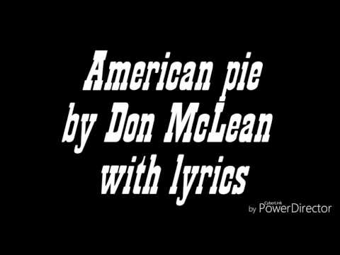 American pie Don McLean lyrics