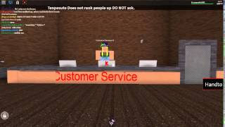 ROBLOX - Customer Service for 5 Seconds