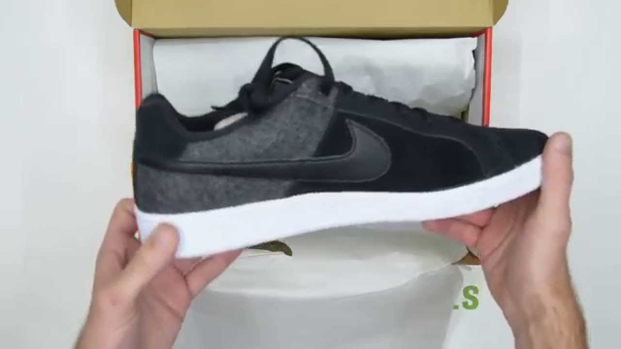 size 40 8dfea f79e1 Nike Court Royale Plus - Black  White - Walktall  Unboxing  Hands on