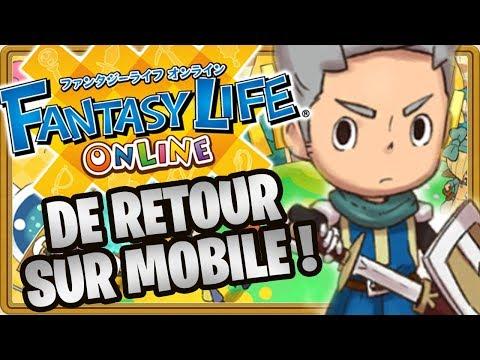 LE HIT NINTENDO 3DS DE RETOUR ! - FANTASY LIFE ONLINE #01