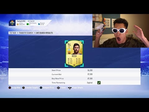 FIFA 19 - *MIN PRICE* MESSI IN THE LUCKIEST SNIPING OF ALL TIME