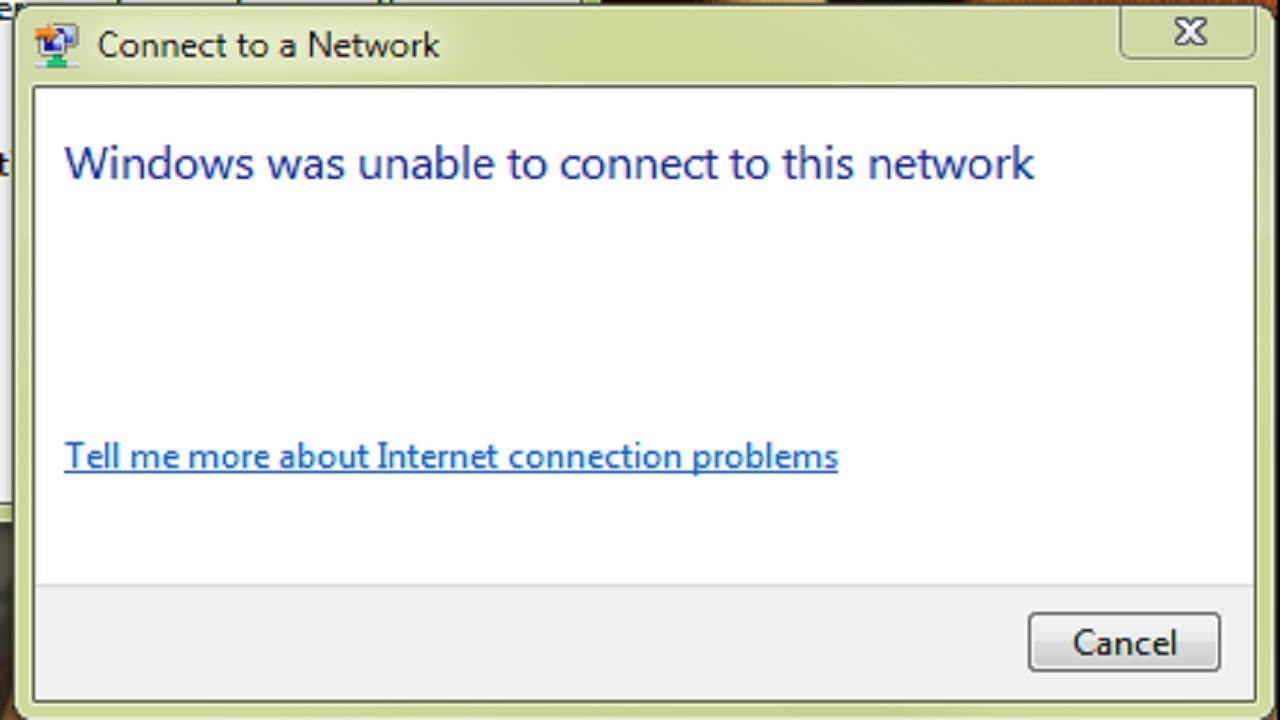 Windows 10 can't connect to this network [COMPREHENSIVE GUIDE]