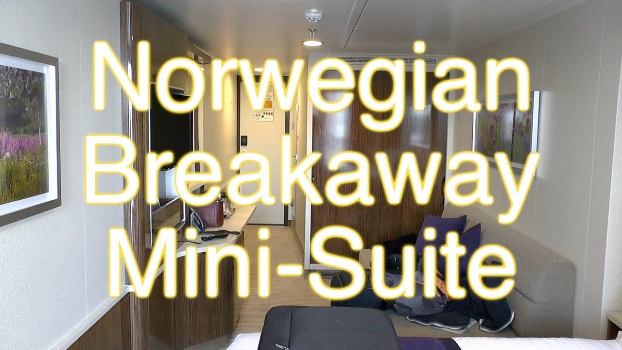 Norwegian Breakaway MiniSuite  Kabinentour  YouTube