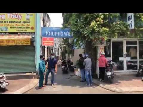 Cách ly, hạn chế ra vào ở đường Phạm Ngũ Lão – phường 7, Gò Vấp, TP HCM