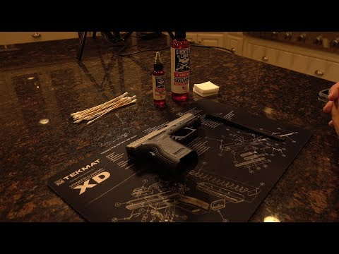Cleaning The Springfield XD 40