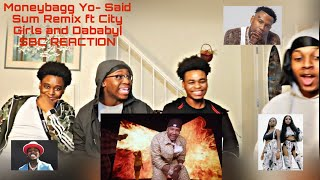 Moneybagg Yo – Said Sum Remix feat. City Girls, DaBaby [Official Music Video]| SBC REACTION