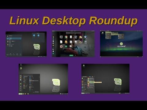 Linux Desktop Roundup | A Look at Five Desktop Environments