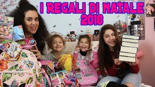 I Nostri REGALI di NATALE 2018!! * LOL SURPRISE - HARRY POTTER - TRUCCHI...*