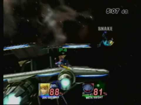 C3 ECRC: Snakeee (Zero Suit Samus) Vs. Mew2King (Metaknight) Rounds 1 and 2