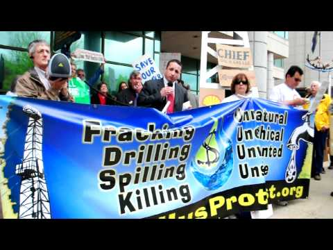 4.27.11 Marcellus Shale Protest: Calvin Tillman