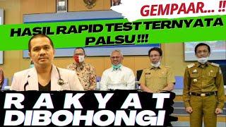Download Lagu GEMPAAR... !! HASIL RAPID TEST TERNYATA PALSU !!! KEBOHONGAN APALAGI? | IDI MAKASSAR | KABAR VIRAL mp3