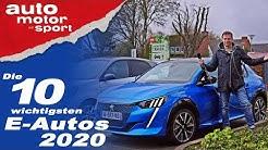 Welches soll man kaufen? Die E-Auto Highlights 2020 - Bloch erklärt #81 | auto motor und sport