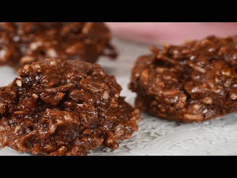 Chocolate Coconut Macaroons Recipe Demonstration - Joyofbaking.com