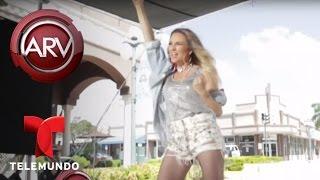 María José graba video con Ivy Queen | Al Rojo Vivo | Telemundo