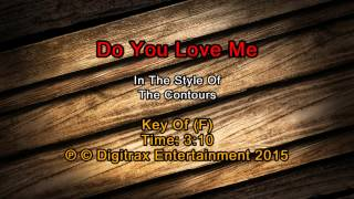 Contours, The - Do You Love Me  (Backing Track)