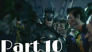 "BATMAN Arkham Knight (PS4) Walkthrough (Hard Mode) Episode Part 10: ""Saving Simon Stagg"""