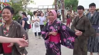 2019盆踊りでチキンダンス