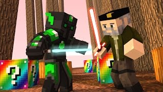 Minecraft: STAR WARS!! c/ sTaXx RAINBOW Lucky Blocks Epic Race