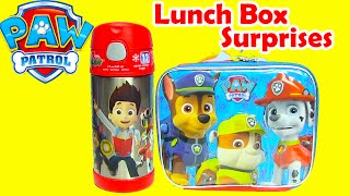 Paw Patrol Lunch Box Surprises with Chase and Rubble