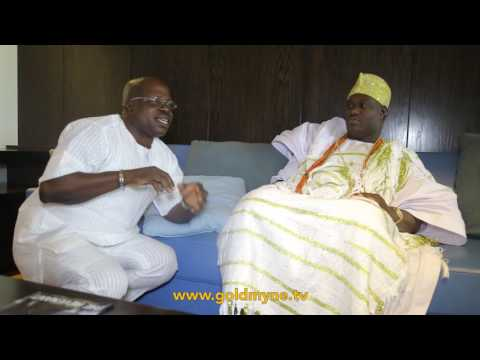 OONI OF IFE PRAYS FOR GOLDMYNETV CEO (Nigerian Music & Entertainment)