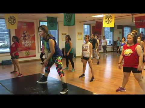 Zumba® Fitness - Dale Pa 'lante (Moombahton) with Marites Pieper @ Golds Gym BGC Philippines